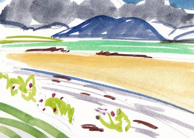 Marion Thomson, Low Tide, Ard na Mhorain, North Uist