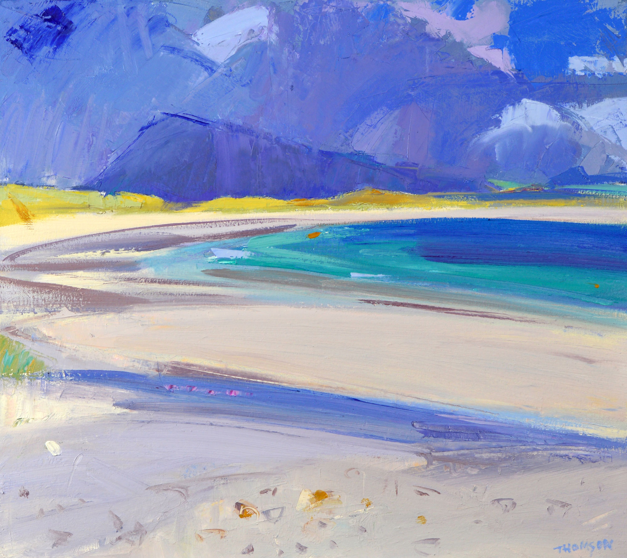 Marion Thomson After the Storm North Uist