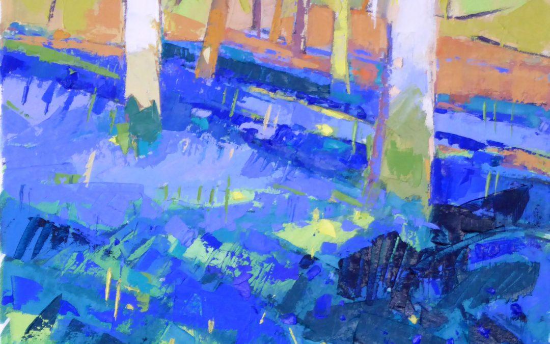 Hillside Bluebells