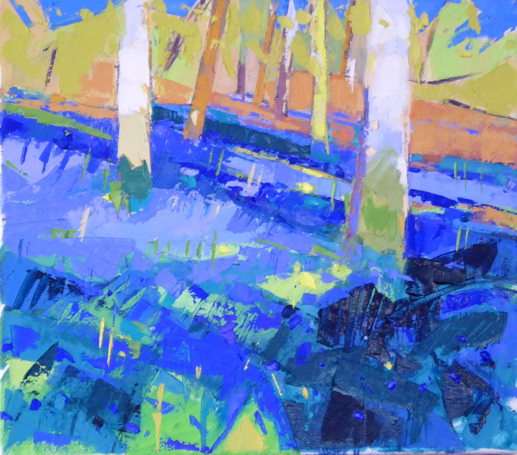Marion Thomson Hillside Bluebells