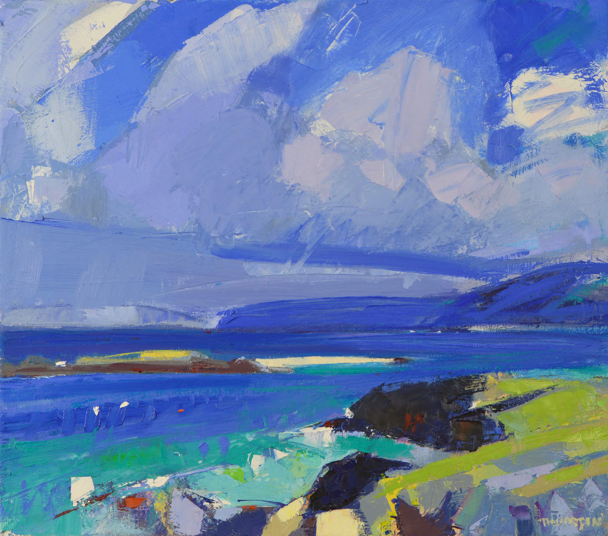 Marion Thomson Out to Sea Iona