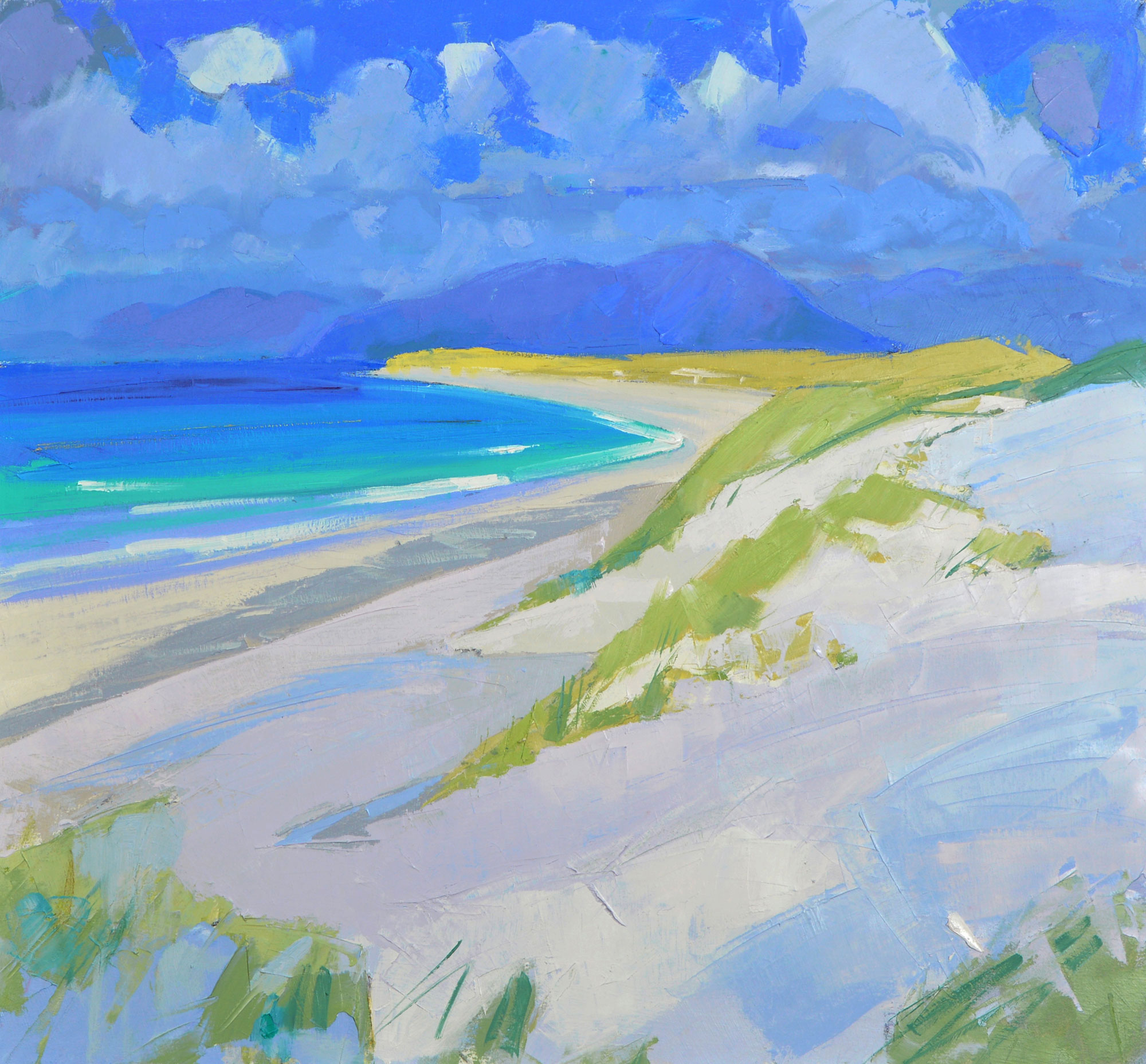 Marion Thomson West Beach, Berneray