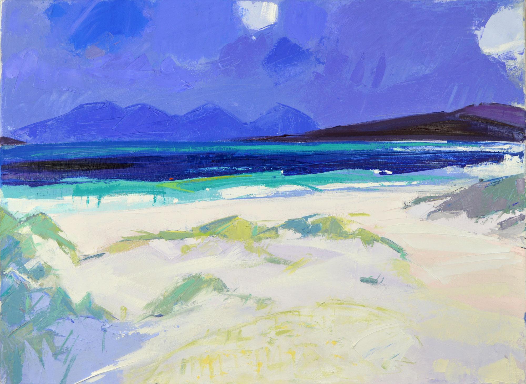 Berneray Shore Marion Thomson
