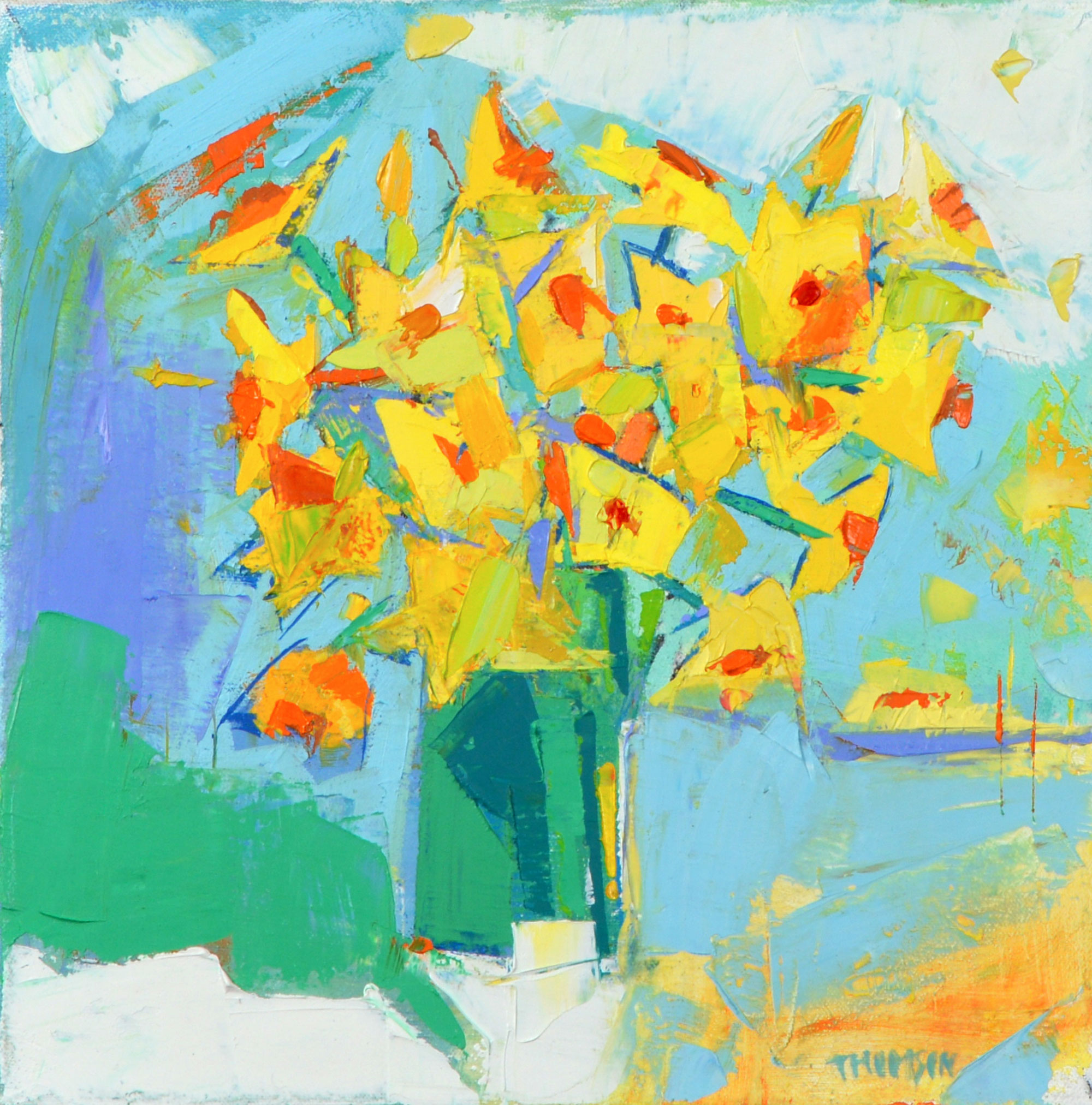 Narcissi by the Window Marion Thomson