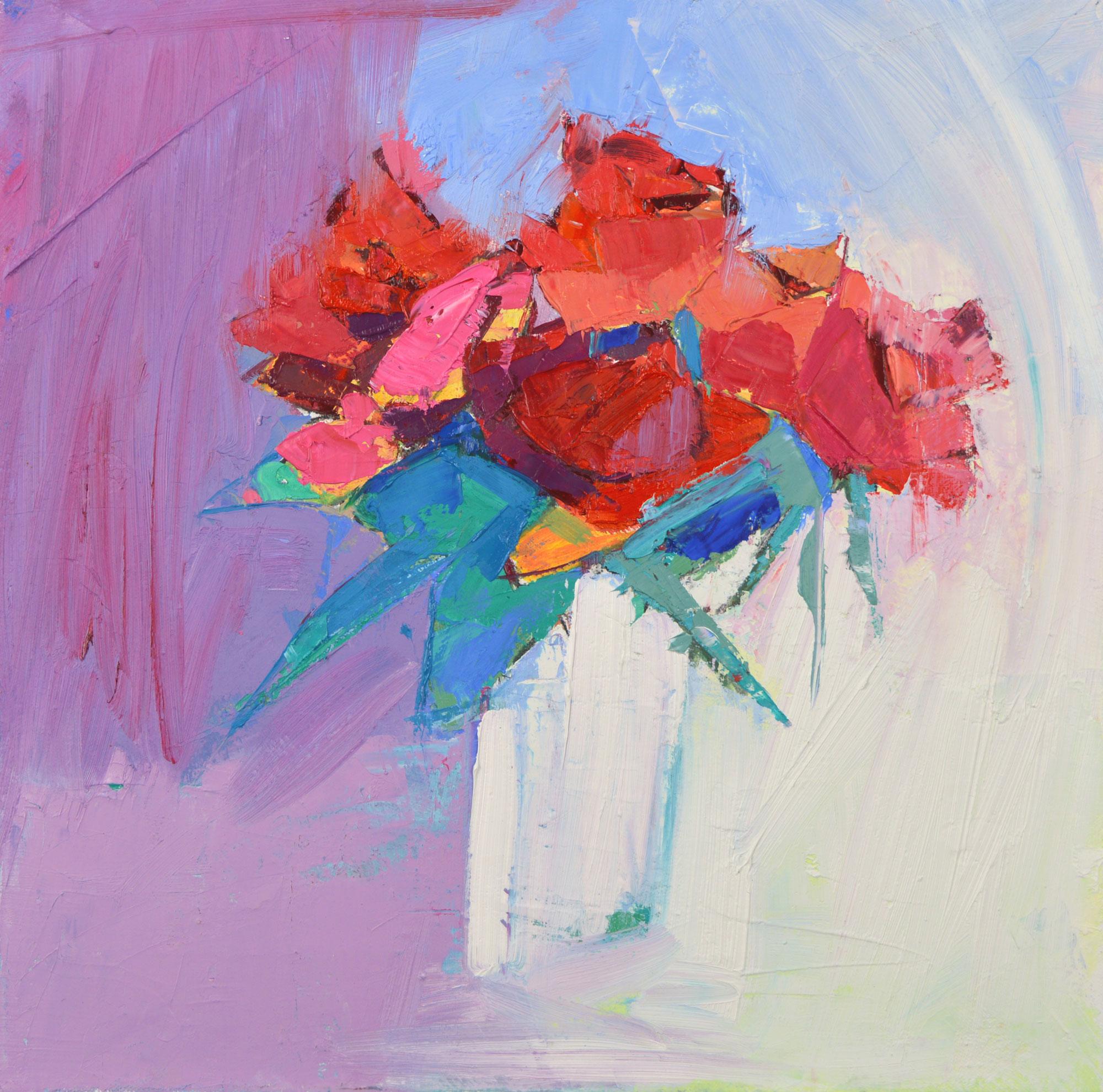 Sunlight on Roses Marion Thomson
